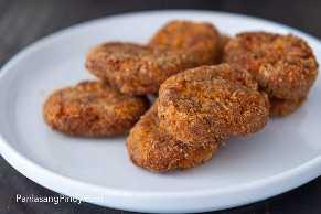 receta de pepitas de kalabasa y carne en conserva