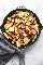 Receta fácil de comida saludable para la sartén de salchicha y col de 30 minutos | lecremedelacrumb.com