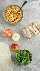 ingredientes para hacer molinetes de pavo