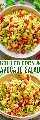 Ensalada de maíz y aguacate a la parrilla: ¡una ensalada FÁCIL y SALUDABLE que está lista en 10 minutos y no podrás dejar de comerla! ¡Maíz jugoso, aguacate cremoso, cilantro y jugo de lima fresco es una FIESTA en tu boca!