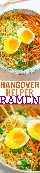 Ramen Helgover Helper: Na próxima vez que uma bebida se transformar em muito mais do que deveria, esta tigela fácil de ramen pronta em 10 minutos ajudará você a se sentir melhor. Também é ideal para gripes e resfriados!