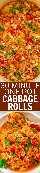 Rollos de col de una olla de 30 minutos: ¡una receta FÁCIL para rollos de repollo deconstruidos que es RÁPIDO y lleno de SABOR! ¡Sabe a lo real, menos el trabajo! ¡Comida abundante y reconfortante que es perfecta para las noches ocupadas!