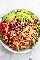Receta fácil y saludable de ensalada de pollo y aguacate | lecremedelacrumb.com