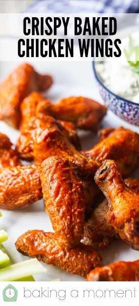 Alitas de pollo al horno receta alitas de pollo pin3.