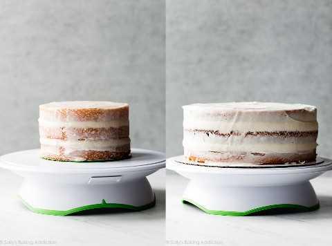 tortas recubiertas de miga en Turner Cake