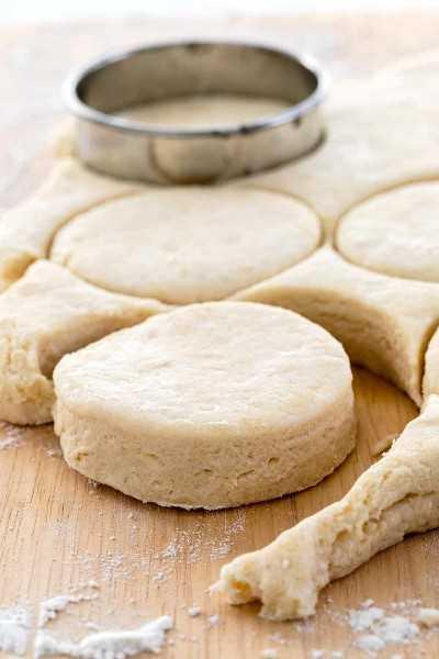 eliminar rondas de galletas de la masa