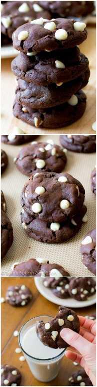 Las MEJORES galletas de chocolate: ¡saben a brownies!