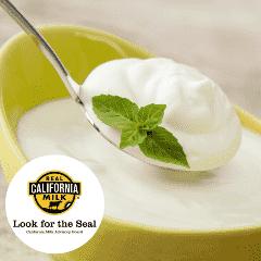 Receta de yogurt saludable Leche Real California