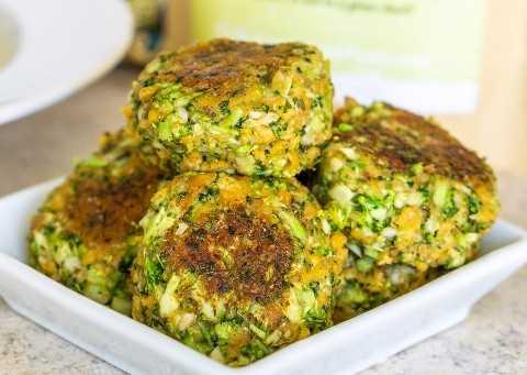 albóndigas veganas de brócoli