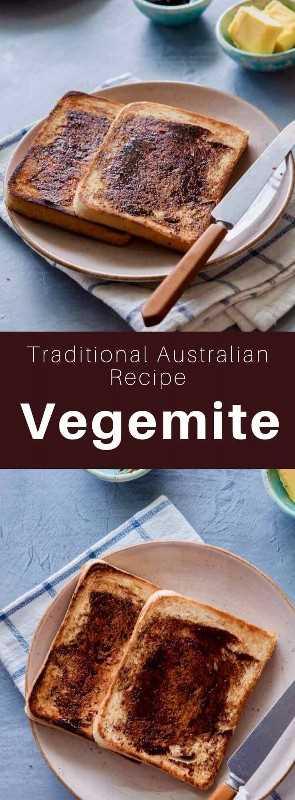 Vegemite es una extensión marrón oscura y relativamente salada hecha de extracto de levadura, que se consume principalmente en Australia y Nueva Zelanda. # Australia # Nueva Zelanda # WorldCuisine # 196 sabores