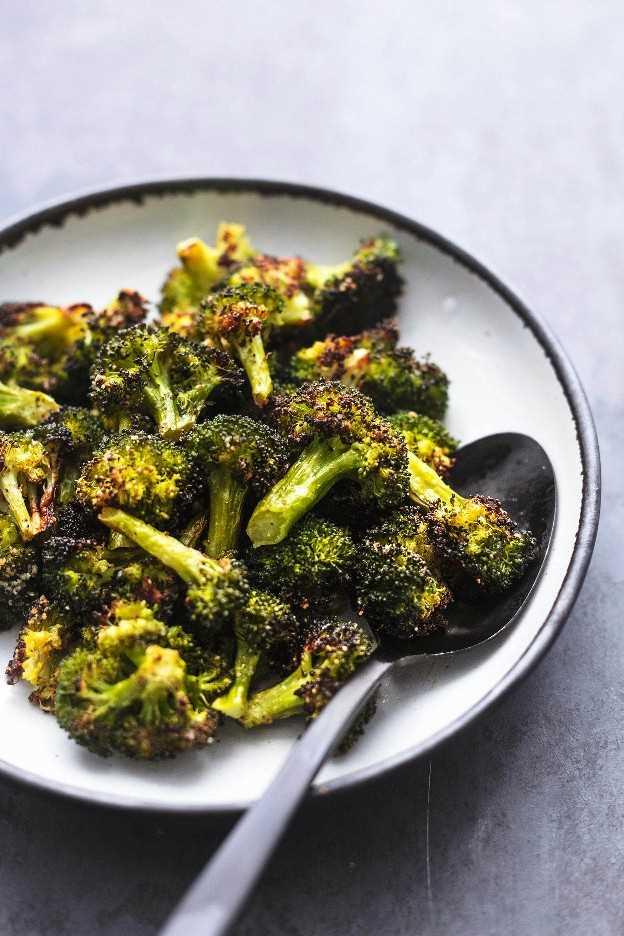 Brócoli Asado Creme De La Crumb Receta Fácil Y