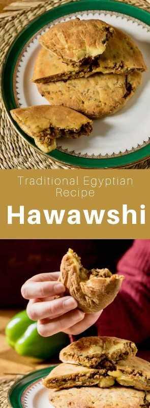 El Hawawshi es un delicioso sándwich tradicional de Egipto que se prepara con pan plano relleno de carne molida picante. # Egipto #Cisina egipcia #Comida egipcia #Receta egipcia #Cocina mundial # 196 sabores