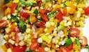 Receta de ensalada de maíz saludable y sabrosa