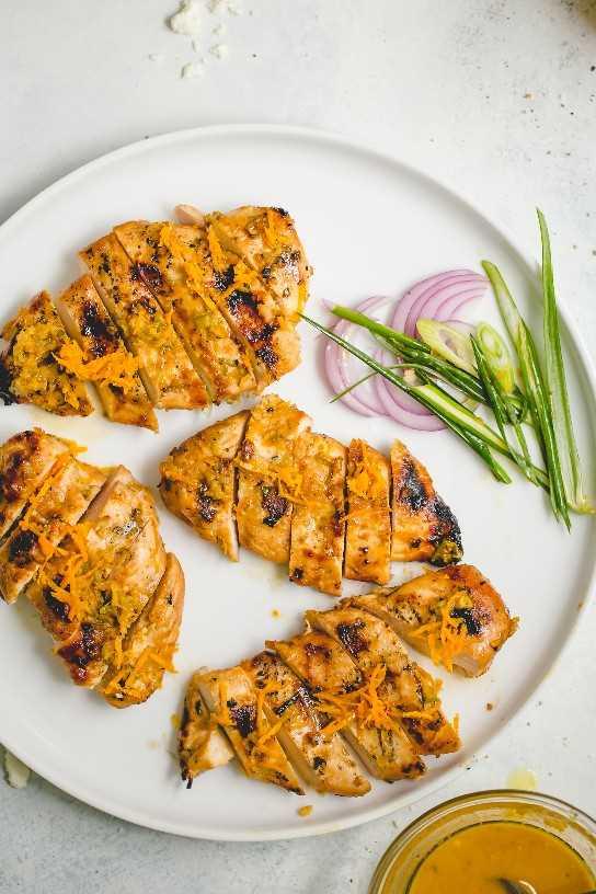 🥇 ▷ Pollo a la Parrilla Marinado con Jengibre y Naranja » Receta Fácil y  Saludable!