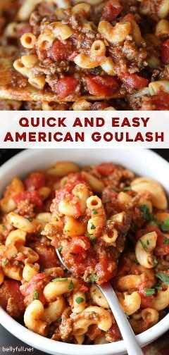 pasador largo para Easy American Goulash