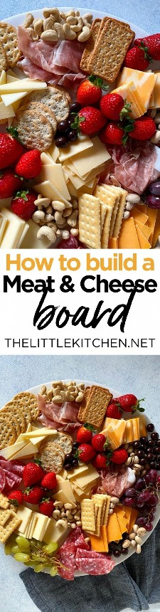 Como construir uma tábua de carne e queijo a partir de thelittlekitchen.net