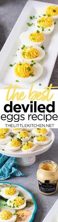 Receita de ovos recheados Thelittlekitchen.net