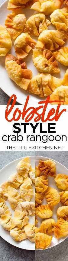 Rangoon crab recipe from thelittlekitchen.net