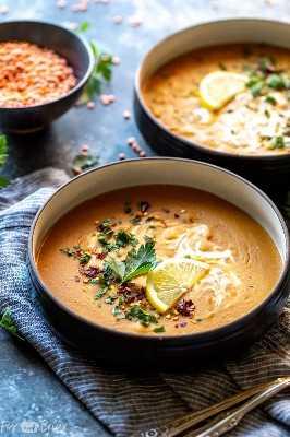 Sopa instantânea de lentilha vermelha vegana | Receitas vegetarianas instantâneas Pot | receita instantânea de sopa de maconha | Receita fácil para sopa de lentilha vermelha | Sopa de lentilha saudável | Sopa de lentilha vermelha da Turquia