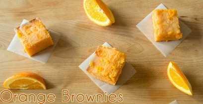 Brownies de laranja