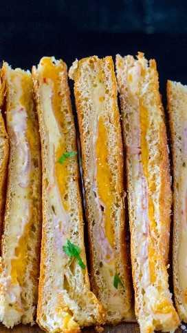 El mejor queso asado de pavo