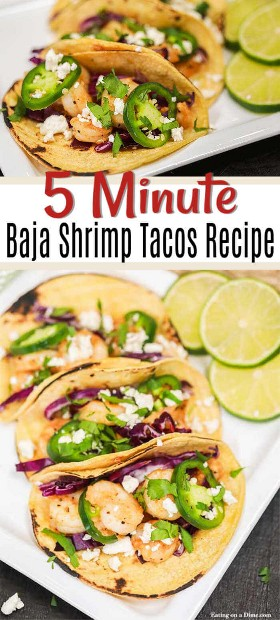 The low shrimp taco recipe can be ready in minutes. Enjoy a delicious restaurant-style meal of low shrimp tacos at home that will save you time and money.