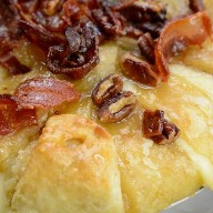 Instant Pot Duo Crips Bacon Maple Brie