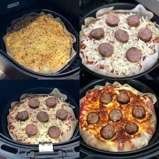 Cauliflower Skillet with Air Skillet Pizza