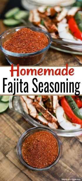 Te encantará hacer tu propio condimento de fajita casero. Es rápido y fácil de hacer y sabrá muy bien en todas sus cenas mexicanas favoritas.