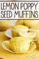 Ligeramente dulces con un estallido de sabor a limón, estas magdalenas húmedas y tiernas de semillas de amapola son ideales para el desayuno o el brunch.