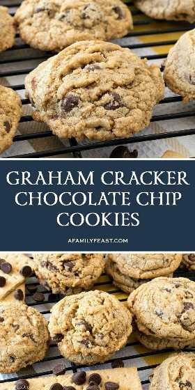 Bolachas com Pedaços de Chocolate Graham Cracker