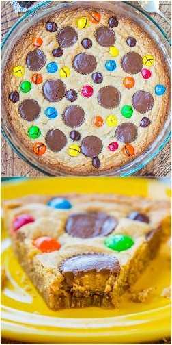 Pastel de galletas de mantequilla de maní triple: este pastel de galletas rápido y fácil ha trabajado con mantequilla de maní de 3 maneras diferentes. Si eres un amante de la mantequilla de maní, ¡esto es para ti!