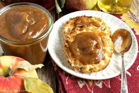 Bourbon apple butter