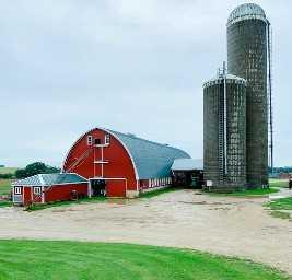 Passeio pela fazenda em Wisconsin