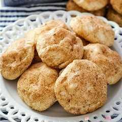 cuinar un coixí i una galeta galeta amb crema de canyella! Afegiu aquests crackers de formatge de crema de SnickerDeodle al vostre menú de cuina de Nadal!