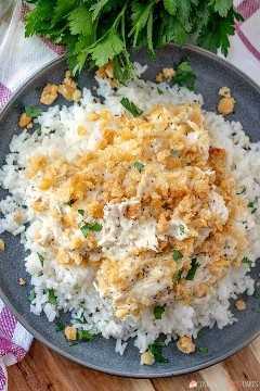 Receta retro - Cazuela de pollo con semillas de amapola