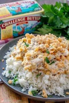 ¡Challenge Butter hace que esta cazuela sea deliciosa!