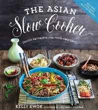 Livro de receitas asiático do fogão lento de Kelly Kwok