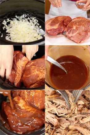 Passo a passo como fazer crockpot de carne de porco picada