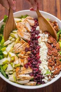 Como fazer salada de frango picada