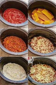 Como fazer molho de lasanha, macarrão, molho de carne, molho de queijo e mussarela ralada