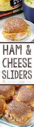 Esses controles deslizantes fáceis de agradar ao presunto e queijo são o acompanhamento perfeito para uma tigela de sopa ou servem no dia do jogo - para uma receita vencedora, todos vão adorar!