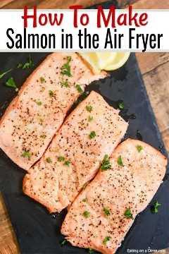 Receta De Salmón Air Fryer Receta Fácil Y Saludable