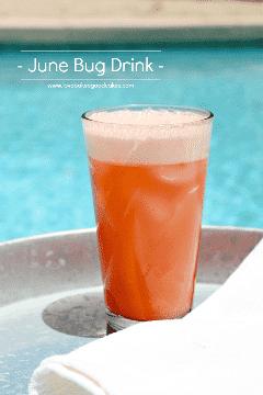 June Bug Drink é verão em um copo! Este refrigerante tem um tom cítrico e é amado por crianças e adultos! #WhereFunBegins #ad