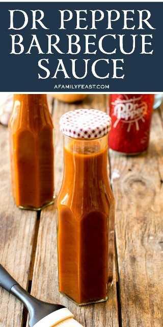 BBQ Dr Pepper Sauce