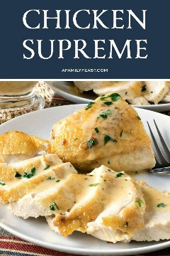 Pollo Supremo Receta Fácil Y Saludable