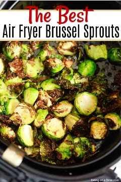 Toda a sua família vai adorar comer couve de Bruxelas quando você faz couve de Bruxelas em uma fritadeira. Esta receita da couve de Bruxelas da Air Fryer é crocante e saborosa.