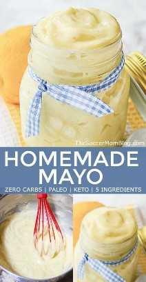 Maionese caseira não é apenas deliciosa, é boa para você também! Nosso keto mayo também é Paleo, sem carboidratos e sem glúten. Clique para assistir a um vídeo tutorial!