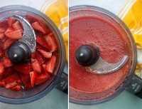 mezcla de fresas