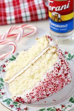 ¡Deslumbra a tus amigos y familiares con este sencillo y delicioso pastel de menta festivo! ¡Puede convertirse en una tradición navideña! ANUNCIO